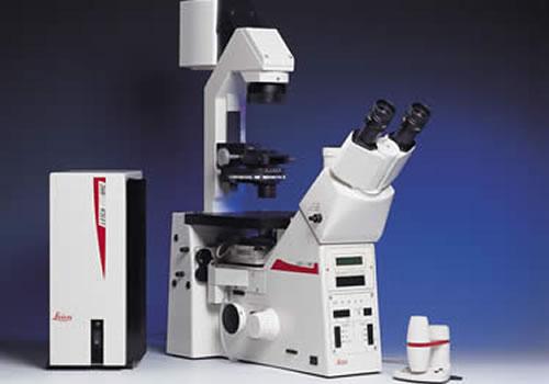 Microscope a fluorescence
