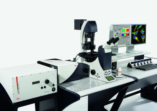 Microscope confocal LEICA SP5